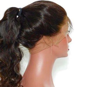 100% Virgin Human Hair 360° Lace Wig unit